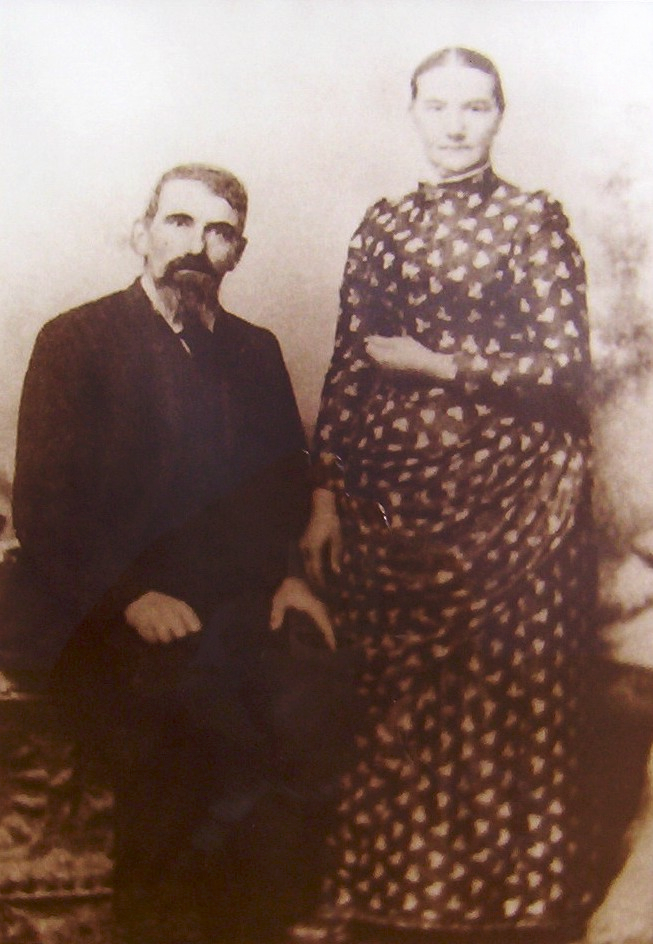 Friedrich and Susanna (Stähli) Von Allmen (ca. 1895)