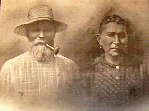 John Jacob and Lucia (Gander) Seewer (ca. 1912)