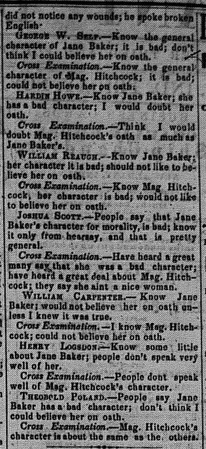 New Albany Daily Tribune, Friday, 4 November 1859, p.2, column 4, Stuart Barth Wrege Indiana History Room