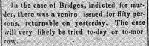 New Albany Daily Tribune, Tuesday, 1 November 1859, p.2, column 2, Stuart Barth Wrege Indiana History Room