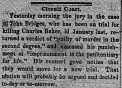 New Albany Daily Tribune, Tuesday, 8 November 1859, p.3, column 1, Stuart Barth Wrege Indiana History Room