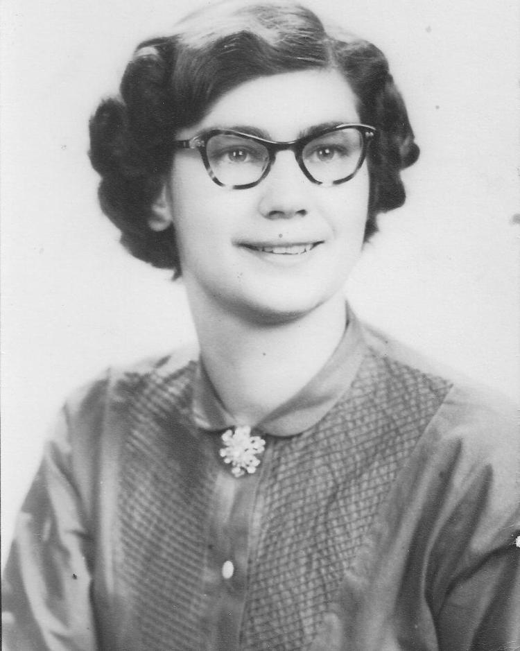 Dolores Louise Schroeder, circa 1949.