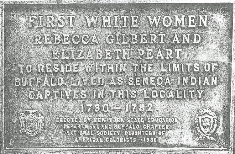 First White Women Monument, Seneca Indian Park, Buffalo, New York, Ancestry.com.