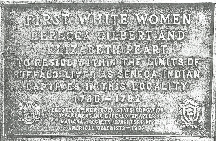 First White Women Monument, Seneca Indian Park, Buffalo, New York, Ancestry.com.