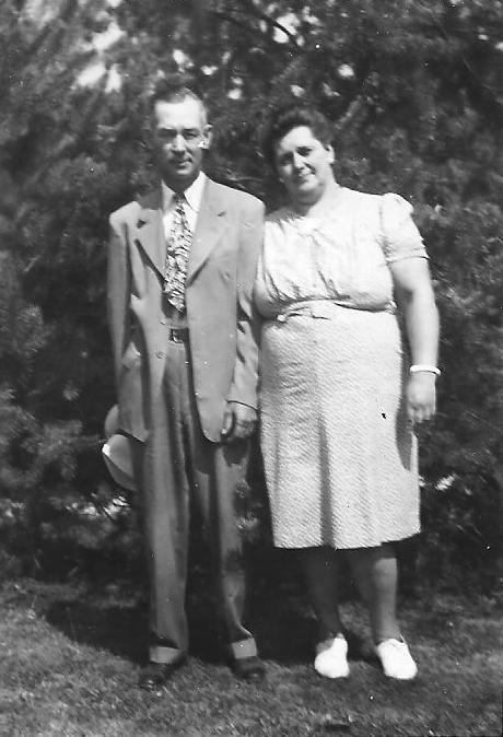 George and Louise (Von Allmen) Schroeder
