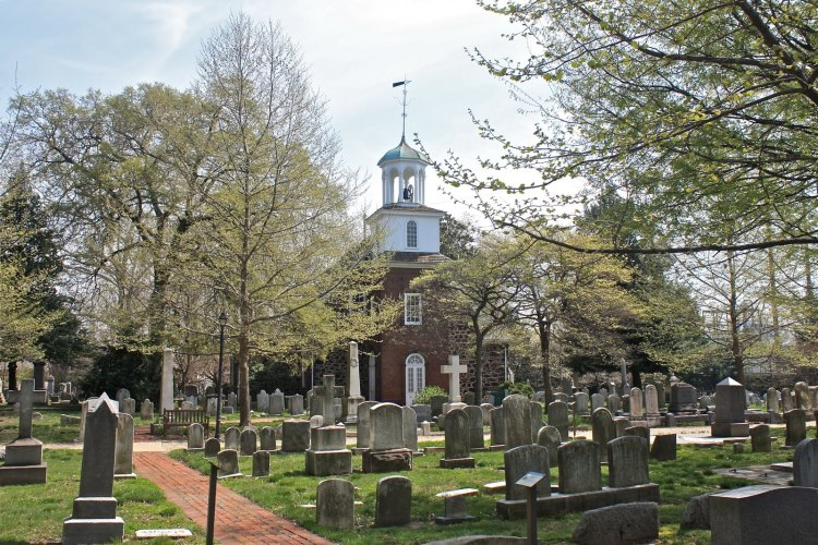 Holy Trinity (Old Swedes) Church, Wilmington, Delaware