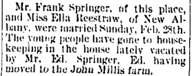 Paoli Republican, Wednesday, 9 March 1892, p.3, column 5, NewspaperArchive.com