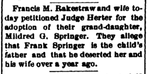 New Albany Evening Tribune, Friday, 25 May 1894, p.3, column 2, NewspaperArchive.com