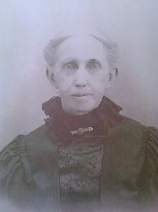 Mary L. Lindley Springer, circa 1910. Photo courtesy of Susan Huber-Jourdan, FindAGrave.com