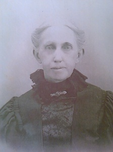 Mary L. Lindley Springer, circa 1910. Photo courtesy of Susan Huber-Jourdan, FindAGrave.com