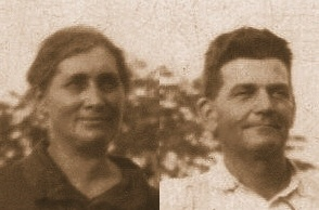 Louise (Seewer) and Edward Von Allmen, circa 1930. Photo courtesy of Douser on FindAGrave.com.